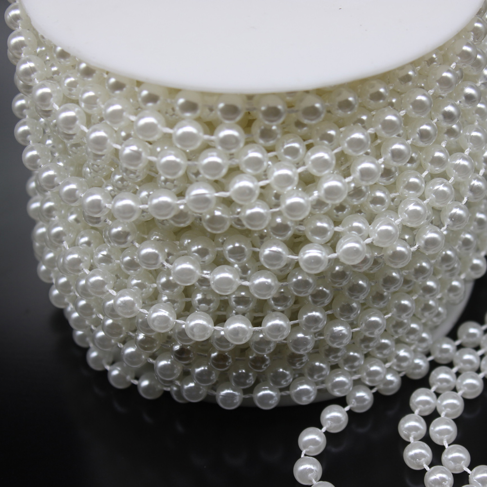 3mm String Beads Garland For Wedding Decoration
